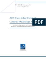 Direct Selling Philanthropy Report 2009