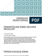 Emission Monitoring