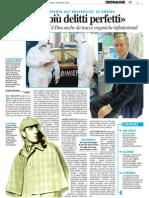 """""""Mai più delitti perfetti"""" - Il Resto del Carlino del 24 gennaio 2009"""