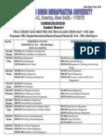 Date Sheet-Final Theory MBA (Regular, FM & IB)