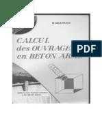 Calcul Des Ouvrages en Béton Armé- M. BELAZOUGUI.