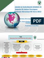 Paparan Kebijakan Akreditasi RS- 27 Juni 2013 ( 3 )