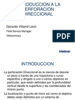 Intro - Perf´n Direccional schlumberger