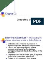 Dimensions of Logistics