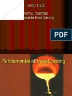 EAT227-Lecture 2.1- Metal Casting