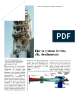 Figure 1. Ejector System for Soybean Oil Deodorizer