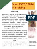 Einladung Zur Vesak Feier Des Bodhi Vihara Freising