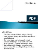 ppt disritmia