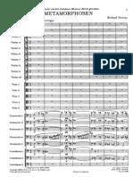 Richard Strauss - Metamorphosen (Orchestral Score)