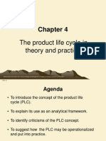 product life cycle in theory and practice