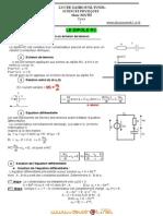 Cours Physique Dipole Rc Bac Math