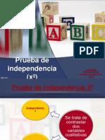 Prueba de Independencia y Homegeneidad