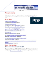 Cooler Heads Digest 9 May 2014
