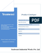 Catalog Yashwant Screens, Conveyer & Other Products