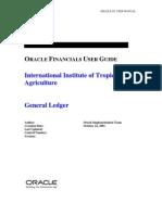 Oracle General Ledger User Guide