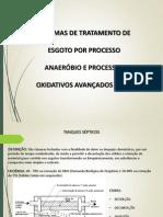 Apresentação Tratamento anaeróbio