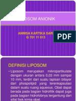 DDSMID LIPOSOM ANIONIK