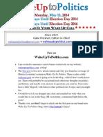 Wake Up to Politics - May 12, 2014