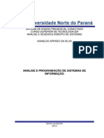 Análise e Programação de Sistemas de Informação