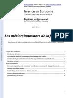 2 Les Metiers Innovants de La Formation