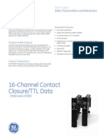 16-Channel Contact Closure-TTL Data