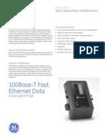 100Base-T Fast Ethernet Data