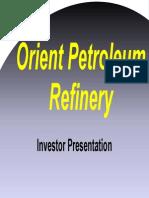 Orient Refinery Presentation Nov 08