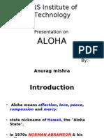 Aloha ppt