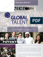 Global Talent Program Booklet