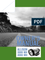 Allisson 4000MH Transmission Owners Manual