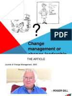 change management or change leadership