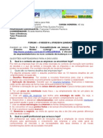 Empreendedorismo - Fórum i - 01 02 2014