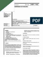 NBR 11682 - Estabilidade de Taludes
