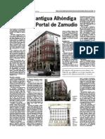 Alhondiga Bilbao Casco Viejo Portal de Zamudio