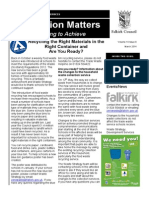 Education Matters (March 2014)