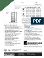 Traulsen RHT-AHT Reach in Refrigerator WUT