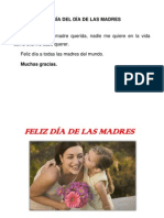 Poesía Del Día de Las Madres