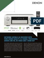 Dn AVR-X4000 Productinfo PDF En