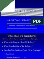 Petroleum Refinery Studies