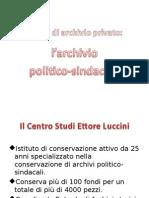 Archivi politico-sindacali