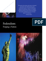 Federalism - Forging a Nation