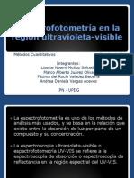 Espectrofotometría en La Región Ultravioleta-Visible
