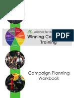 Winning Campaigns Training Workbook- 2014 Baltimore