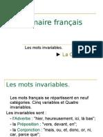 Grammaire français -> Les Conjonctions