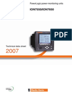 Manual ION7650