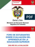 07. Foro Sobre Evaluacion en La Educacion Suprerior