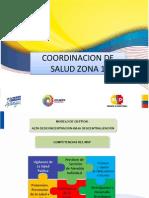 MINISTERIO DE SALUD COORDINACIÓN ZONA 1