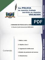 MINISTERIO DEL INTERIOR COMANDO DE LA POLICÍA ZONA 1