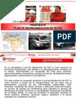 Plan Reorganizacion de Rutas Propuesta