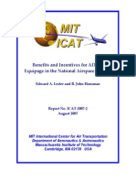 Edward Lester, John Hansman - Benefits and Incentives for ADS-B Equipage in the National Airspace System
